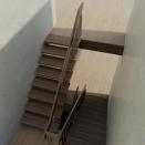 3D модель лесницы